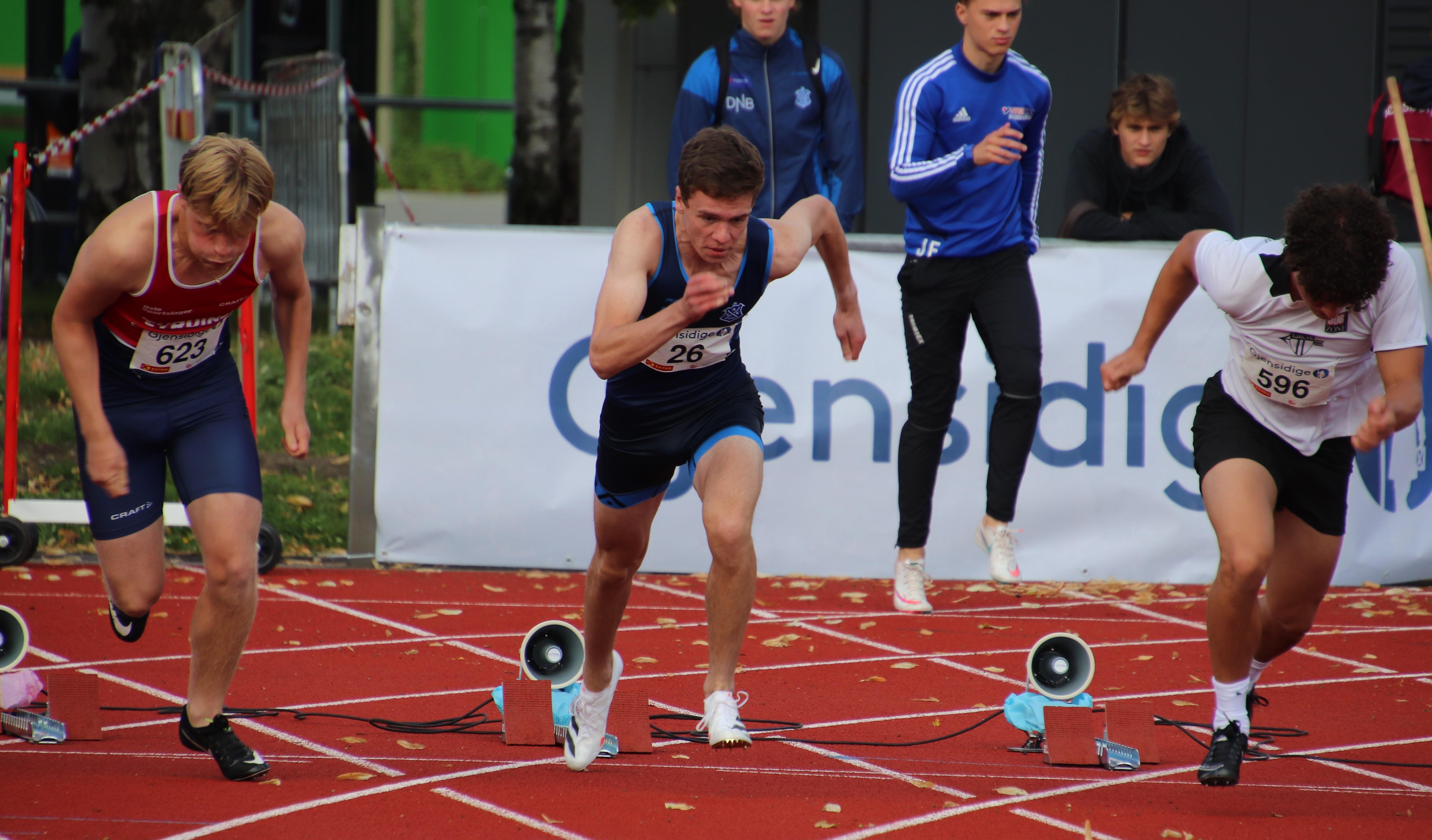 August Østbø Johansen, 100m UM