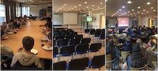 Et bilde som inneholder innendørs, rom, bord, sitter      Automatisk generert beskrivelse